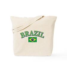 Brazil Soccer designs Tote Bag