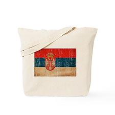 Serbia Flag Tote Bag