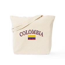 Colombia Soccer designs Tote Bag