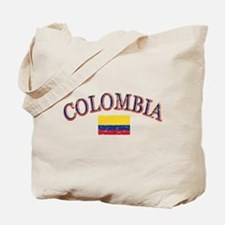 Colombia Soccer designs Tote Bag