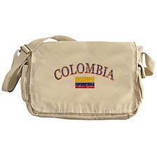 Colombia Soccer designs Messenger Bag
