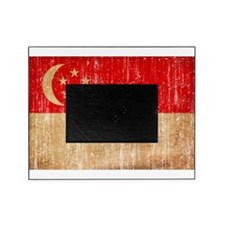 Singapore Flag Picture Frame