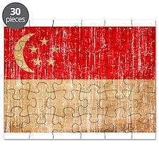 Singapore Flag Puzzle