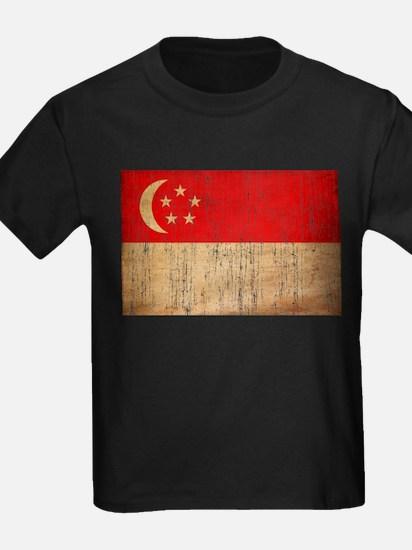 Singapore Flag T