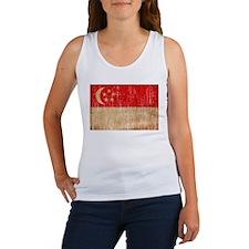 Singapore Flag Women's Tank Top