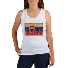 Slovakia Flag Women's Tank Top
