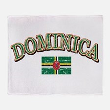 Dominica Soccer designs Throw Blanket