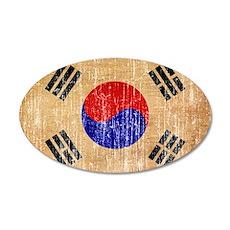 South Korea Flag Wall Decal