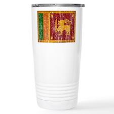 Sri Lanka Flag Travel Mug