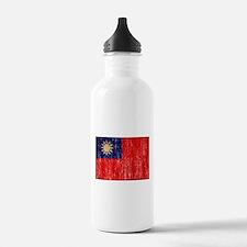Taiwan Flag Water Bottle