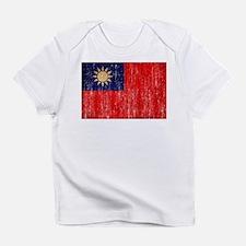 Taiwan Flag Infant T-Shirt