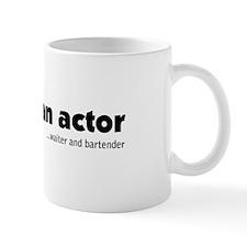 My Son Is An Actor (Black) Mug