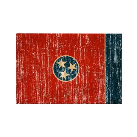 Tennessee Flag Rectangle Magnet (100 pack)