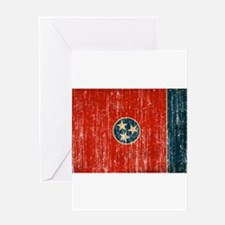 Tennessee Flag Greeting Card