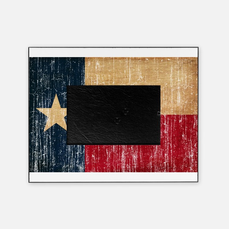 Texas Flag Picture Frame