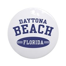Daytona Beach Florida Ornament (Round)
