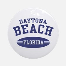 Daytona Beach Florida Ornament (Round)