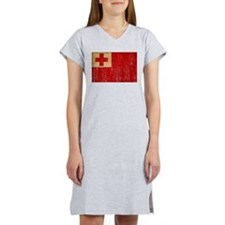 Tonga Flag Women's Nightshirt