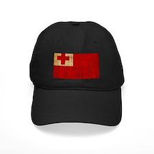 Tonga Flag Baseball Hat