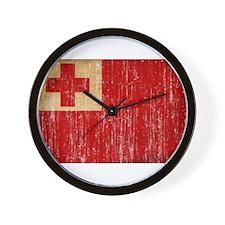 Tonga Flag Wall Clock
