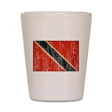 Trinidad and Tobago Flag Shot Glass
