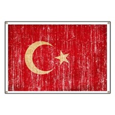 Turkey Flag Banner