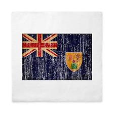 Turks and Caicos Flag Queen Duvet