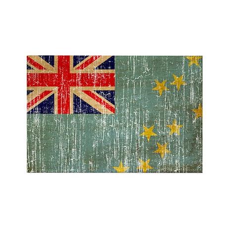 Tuvalu Flag Rectangle Magnet