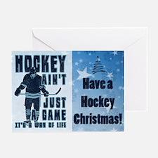 Hockey Way Of Life Christmas (pk Greeting Cards