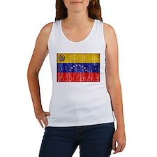Venezuela Flag Women's Tank Top