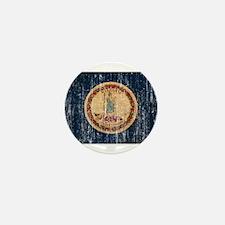 Virginia Flag Mini Button