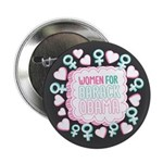 """Women for Obama Inked 2.25"""" Button (100 pack)"""
