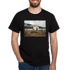 Villa de Leyva Black T-Shirt