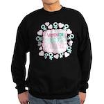 Women for Obama Inked Sweatshirt (dark)