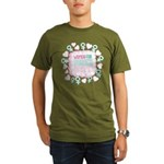 Women for Obama Inked Organic Men's T-Shirt (dark)