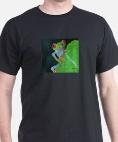 Peekaboo Tree Frog T-Shirt