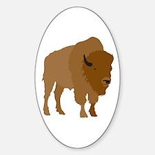 Buffalo Oval Decal