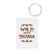 Wild About Drama Keychains