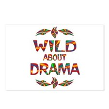 Wild About Drama Postcards (Package of 8)