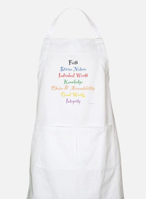 Young Women Values BBQ Apron