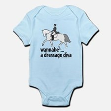 2-WB dressage diva-square-gray Body Suit