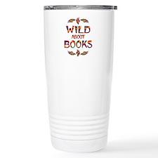 Wild About Books Travel Mug