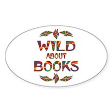 Wild About Books Decal