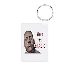 Zombie Cardio Keychains
