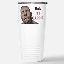 Zombie Cardio Stainless Steel Travel Mug
