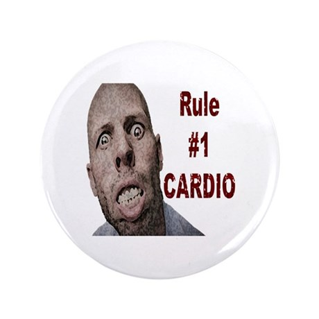 "Zombie Cardio 3.5"" Button (100 pack)"