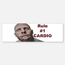 Zombie Cardio Bumper Bumper Sticker