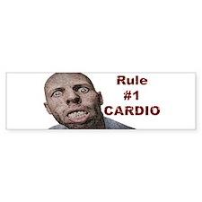 Zombie Cardio Bumper Sticker
