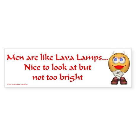 Lava Lamps... Bumper Sticker