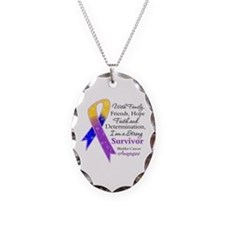 Bladder Cancer Strong Survivor Necklace